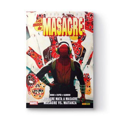 Cómic «Masacre mata Masacre» firmado y dedicado por Salva Espín