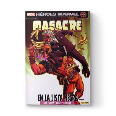 Cómic «Masacre en la lista Negra», firmado por Salva Espín