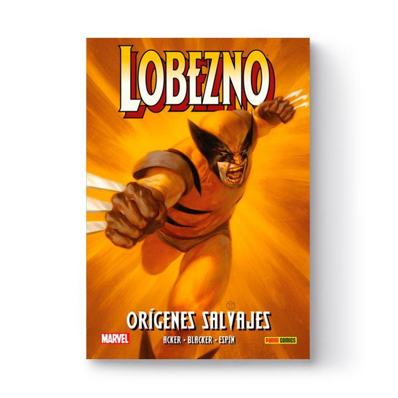 Cómic Lobezno «Orígenes Salvajes», dedicado y firmado por Salva Espín