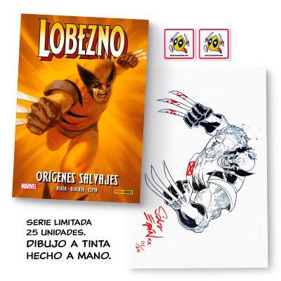 lobezno + arte original 25